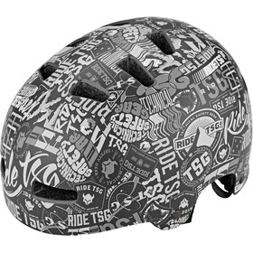 TSG Evolution Graphic Design Casque Enfant, stickerbomb